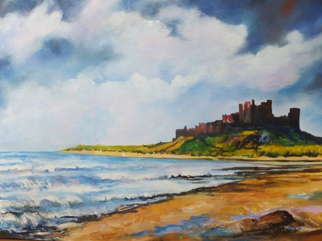 Bamburgh Castle blued grey sky cheviot gate 001 (640×480)