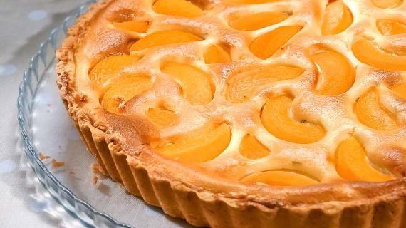 Творожный пирог с персиками. Пошаговый рецепт с фото, удобный поиск рецептов на Gastronom.ru