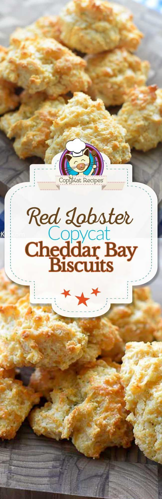 Make Red Lobster Copycat Cheddar Bay Biscuits at home with this recipe.