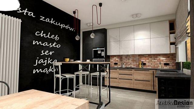 3. Wnętrze zaprojektowane przez Arkadiusza Słowakiewicza z biura projektowego AretzkyDesign