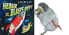 Author, Jan Brett's official site