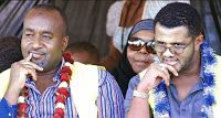 DAILY POST: OMAR has balls! After pushing UHURU/ RUTO to the wall, he caught JOHO red-handed