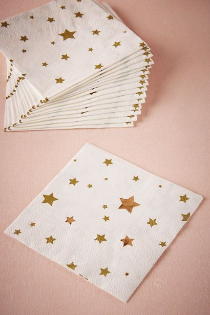 Constellation Cocktail Napkins (16) in Sale at BHLDN