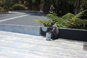 Waterproofing of Concrete Slabs.
