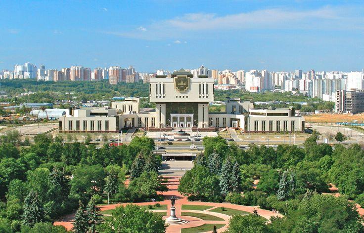 Фундаментальная библиотека МГУ им.