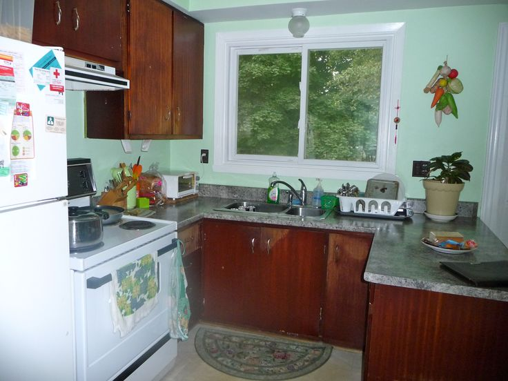 Before After Small Kitchen