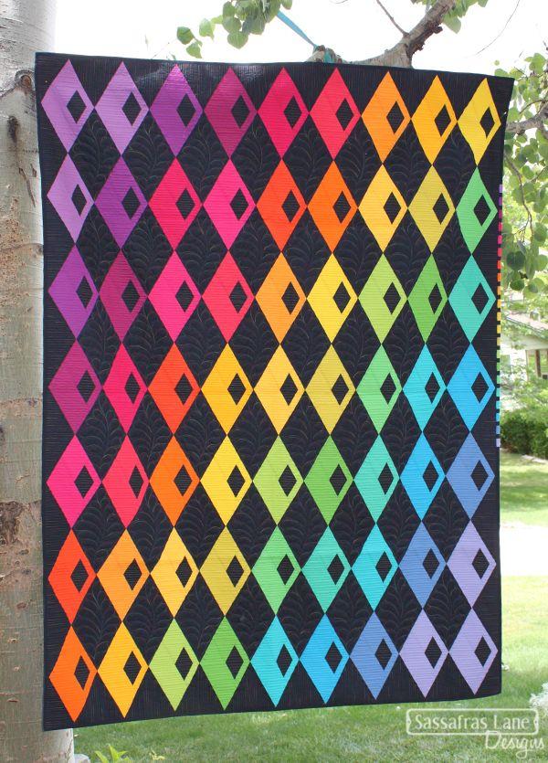 Diamond Detour Quilt Pattern – Sassafras Lane Designs