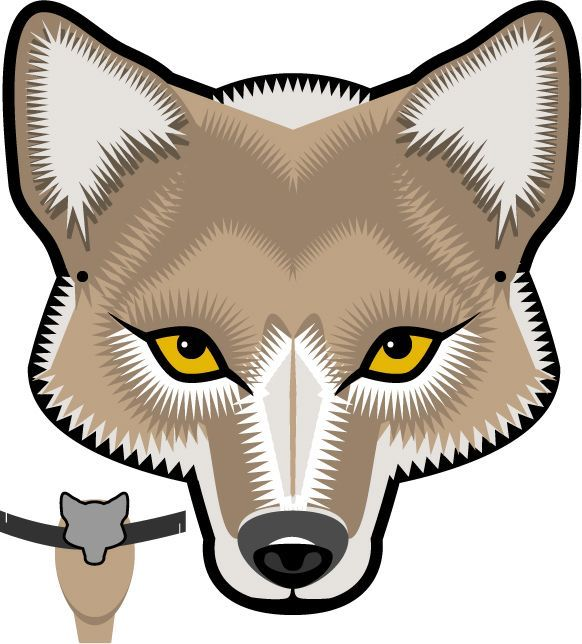 Wolf Mask Clipart Wolf Mask Clipart Great Free Clipart Silhouette Coloring Pages And Drawings That You Can Use Everywhere Wolf Mask Animal Masks Coyote