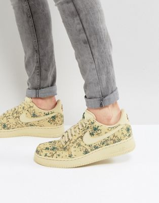 Nike | Nike Air Force 1 '07 LV8 Trainers In Camo Print In Beige 823511-700