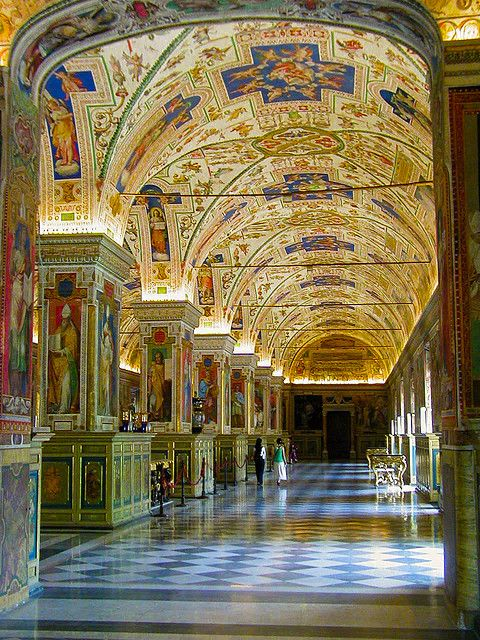 Vatican Museum - -I wonder if the world will ever see what the don't show ????