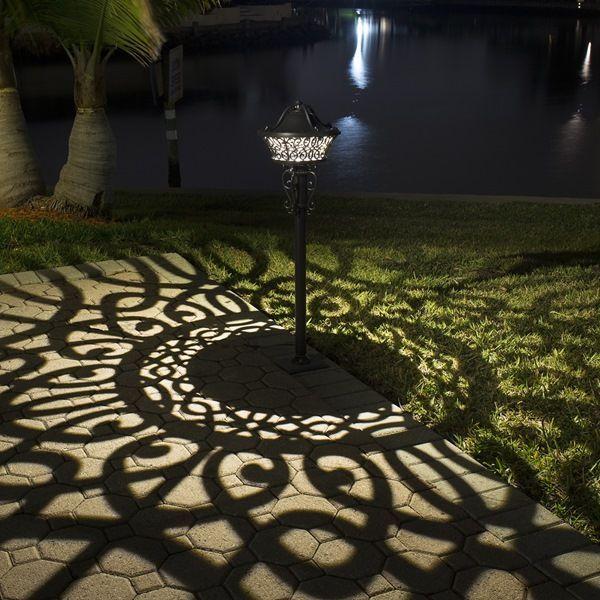 Discontinued Shadowmaster Led Path Area Light Outdoor Solar Lights Landscape Lighting Landscape Lighting Design