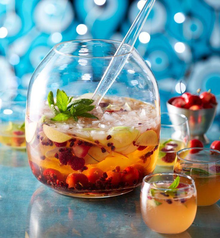 Summery passionfruit martini