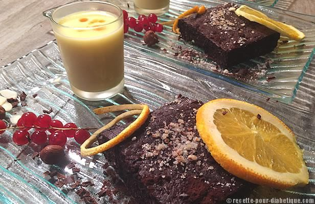 Brownies sans sucre ajouté ni farine