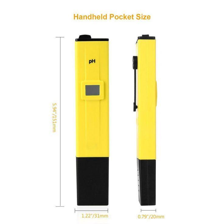 $4.67 (Buy here: https://alitems.com/g/1e8d114494ebda23ff8b16525dc3e8/?i=5&ulp=https%3A%2F%2Fwww.aliexpress.com%2Fitem%2FPortable-Digital-PH-Meter-Tester-Pocket-Pool-Water-Aquarium-Hydroponic-Wine-Testers-Tool%2F32749102159.html ) Portable Digital PH Meter Tester Pocket Pool Water Aquarium Hydroponic Wine Testers Tool for just $4.67