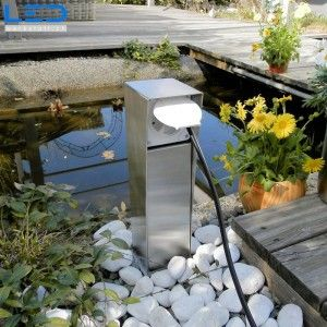 Gartensteckdose IP65, Steckdosensockel für Ihren Garten, Aussensteckdose aus Edelstahl, Outlet Socket, prise de jardin, courant, Swissmade
