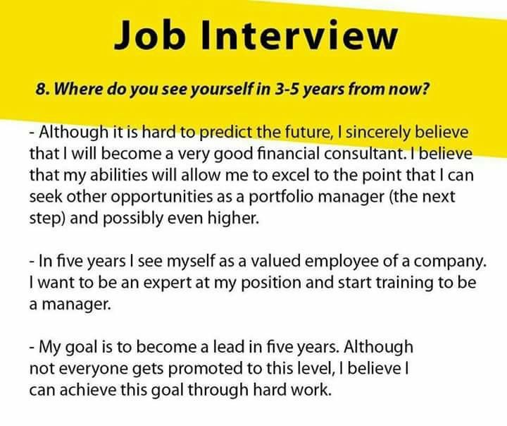 The 2nd Answer Is Decent Job Interview Answers Job Interview Tips Job Interview