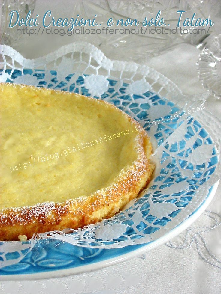 Torta di ricotta senza farina | ricetta light senza burro, senza farina, senza lievito.