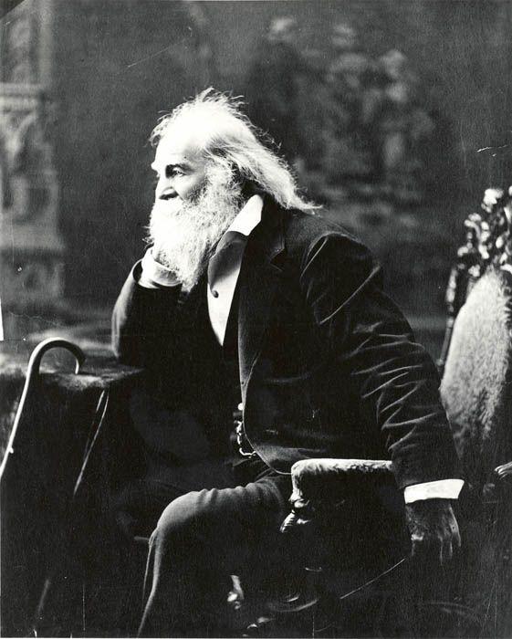 Walt Whitman - take me away...