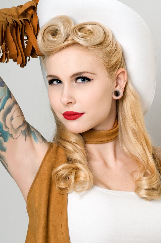 hair styles for the 40 best pin up hairstyles images on retro 2845