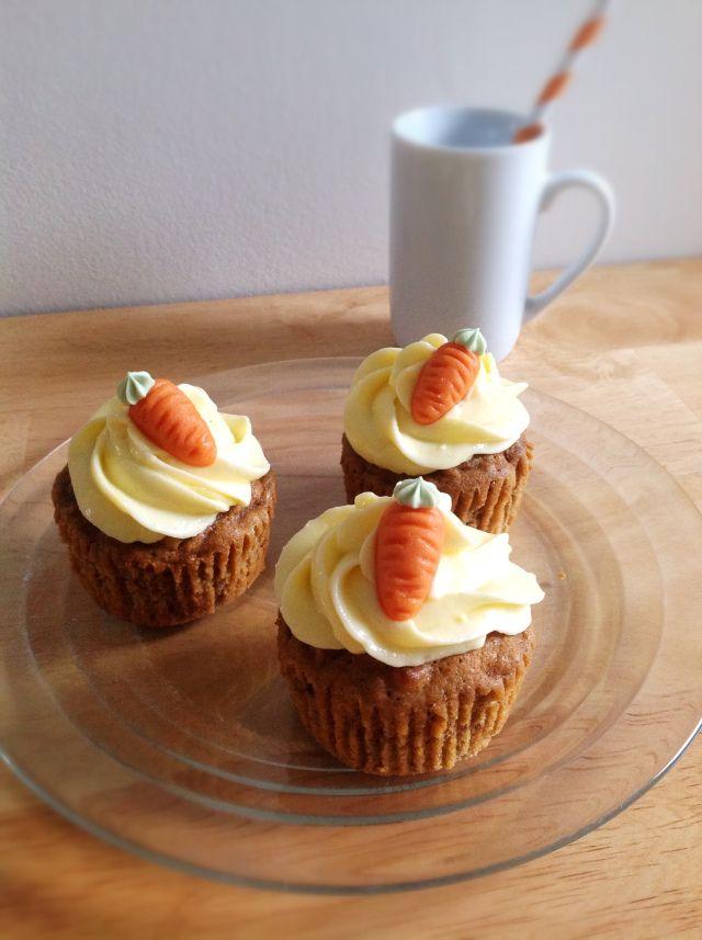 Carrot cake façon cupcakes de Julie
