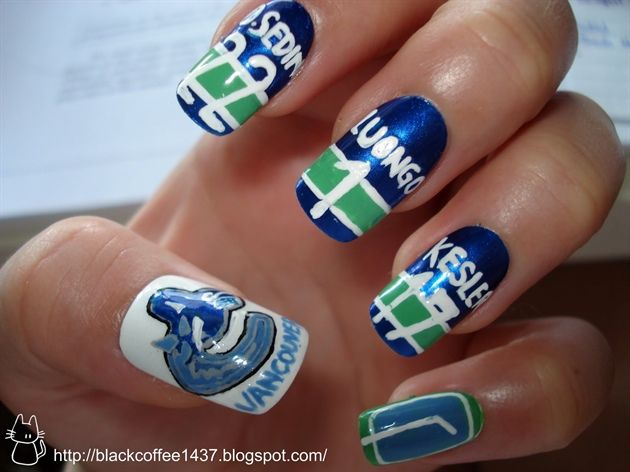 Vancouver Canucks nails