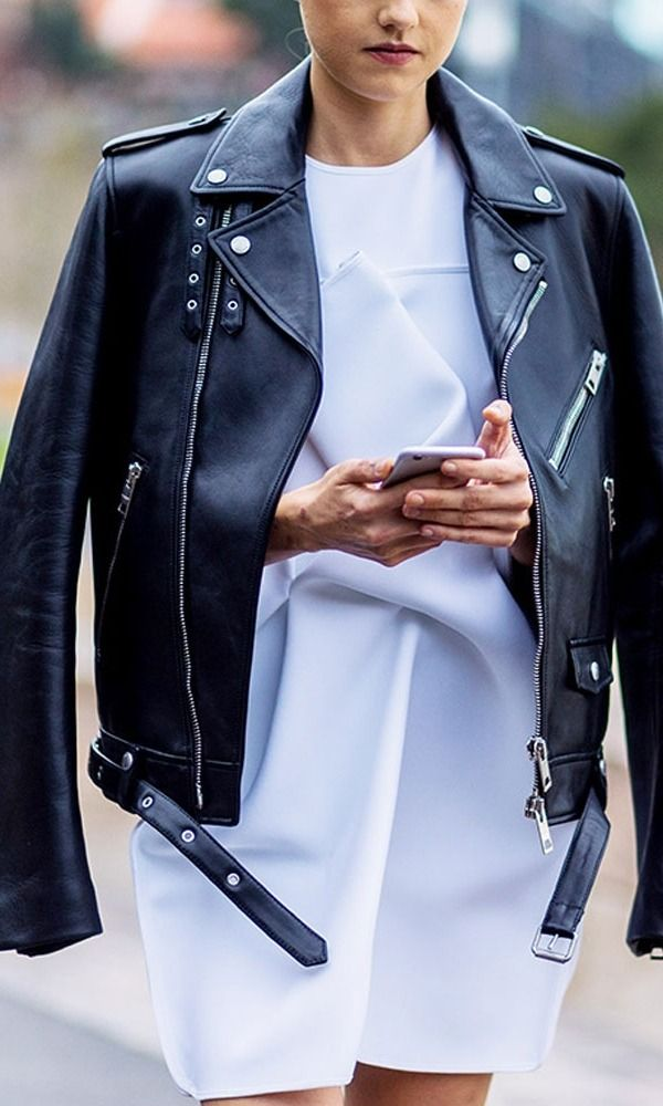 The leather jacket is a staple regardless of the season. Shop our favorite picks in every cut imaginable. After all who doesn't love a little edge for spring??