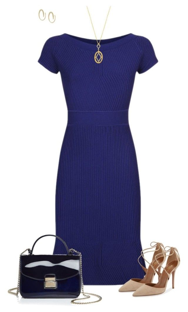Blue by ksims-1 on Polyvore featuring polyvore, fashion, style, Armani  Collezioni. Ivanka Trump OutfitsIvanka ...
