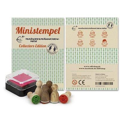 Mainzelmännchen Mini-Stempel