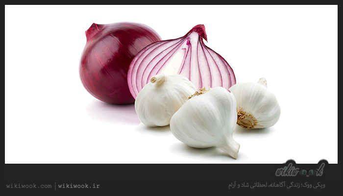 یکی از راه هایی که تاثیر بسیاری برای از بین بردن بوی بد سیر و پیاز در دهان دارد خوردن میوه هایی همچون سیب گلابی آلو هلو ز Medicinal Plants Vegetables