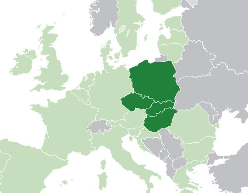 The Visegrád Group is a cultural and political alliance of four Central European nations – the Czech Republic, Hungary, Poland and Slovakia, that are members of the European Union (EU) – for the purposes of advancing military, cultural, economic and energy cooperation with one another along with furthering their integration in the EU.    The Group traces its origins to the summit meetings of leaders from Czechoslovakia, Hungary, and Poland