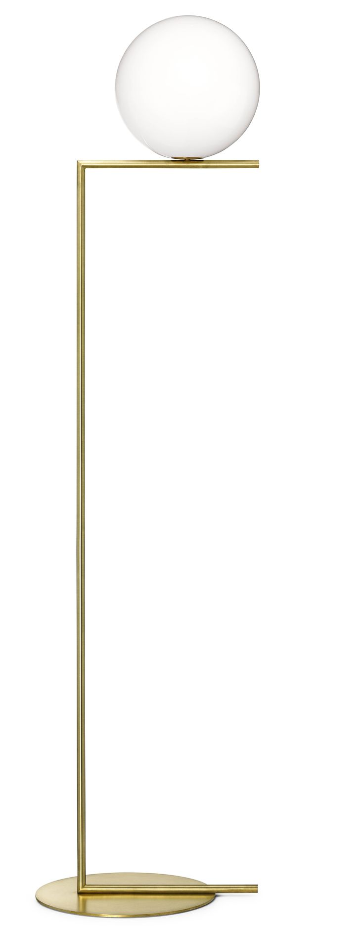 IC Light F2 Brass designed by Michael Anastassiades for Flos Lighting