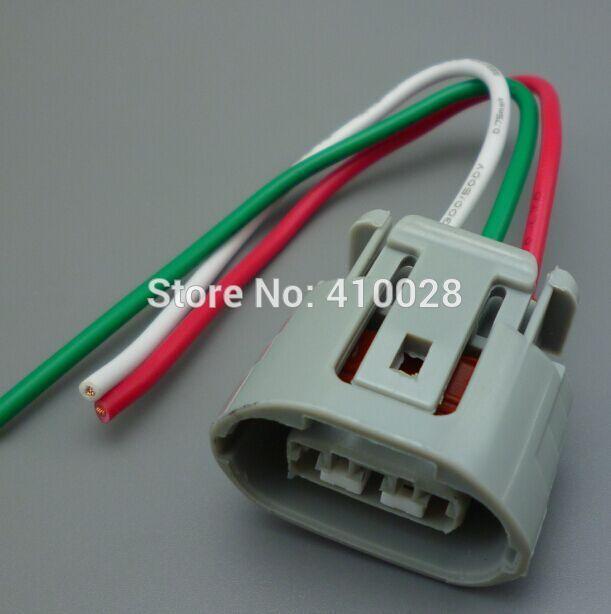 2/10/50PCS 2.2mm  3pin  3way Alternator Repair sockets case for Toyota  for Suzuki 3 pin connectors harness