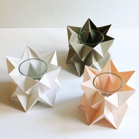 Origami Orikomi Tea Lights