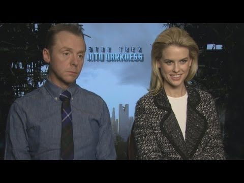 Simon Pegg and Alice Eve Talk Benedict Cumberbatch