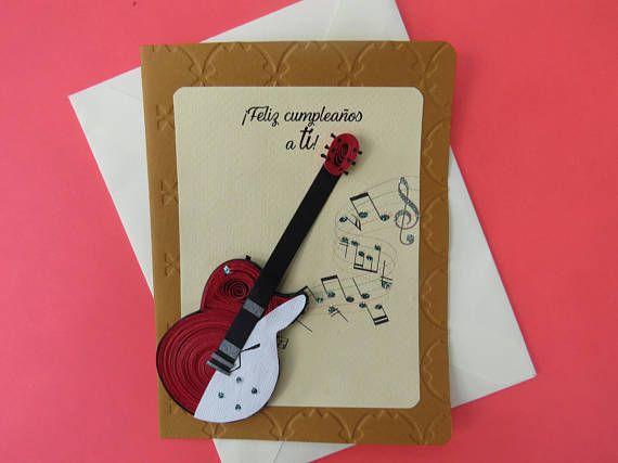 Tarjeta de felicitación para cumpleaños  Tarjeta con