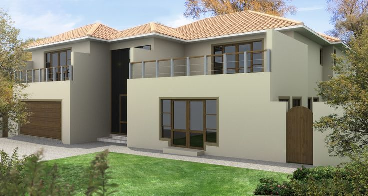 House Nobu - Cedar Creek House, 3d image with one colour scheme....