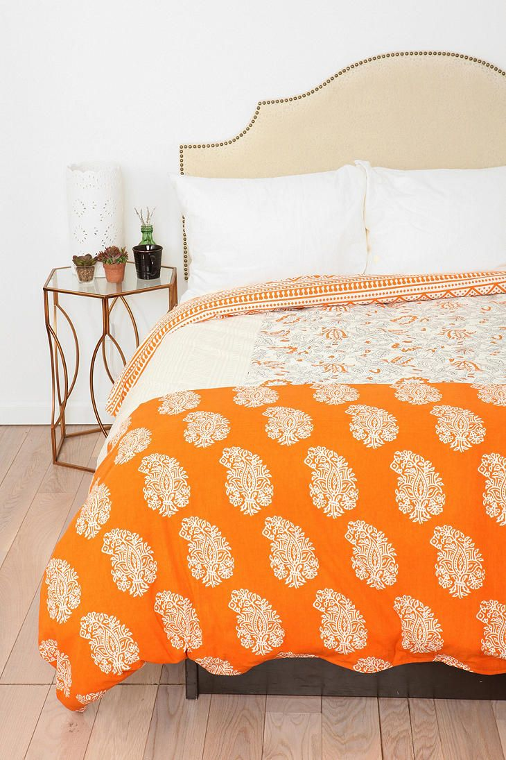 Magical Thinking Block Collage Duvet Cover Available in Twin XL