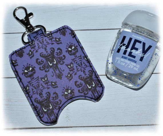 Hand Sanitizer Holder Pocketbac Holder Sanitizer Key Fob Snap