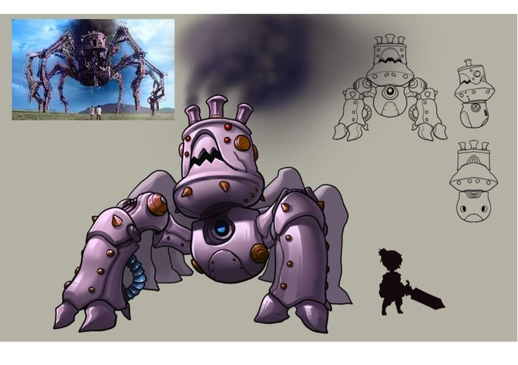 - Spider Mech - Skywind Heroes - Pet and Monster Artwork. Challenge, Fight and Catch Them Some monster can be capture and some are not #SWH #Faveo #artwork #art #MMORPG #Freeonlinegame #onlinegame #Webgames