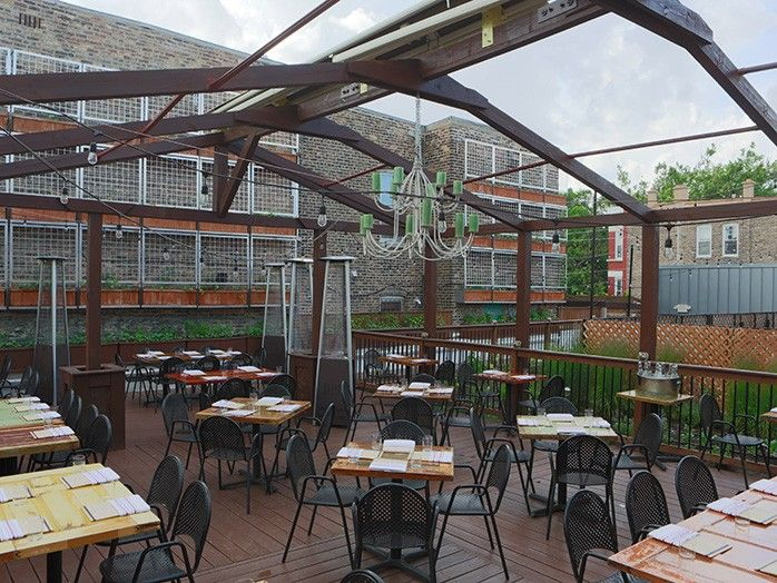 For an awesome rooftop and a farm-to-table food, check out Homestead on the Roof in Ukrainian Village!