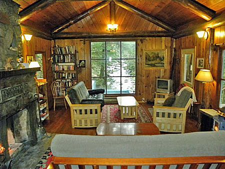 Curl up by the fire in your secluded cabin and enjoy the wonders of fall.