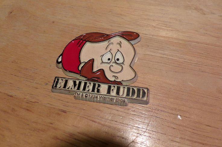 Looney Tunes Magnet, Elmer Fudd Magnet, 1994 Warner Brothers Elmer Fudd Magnet, Rare Elmer Fudd magnet by Morethebuckles on Etsy