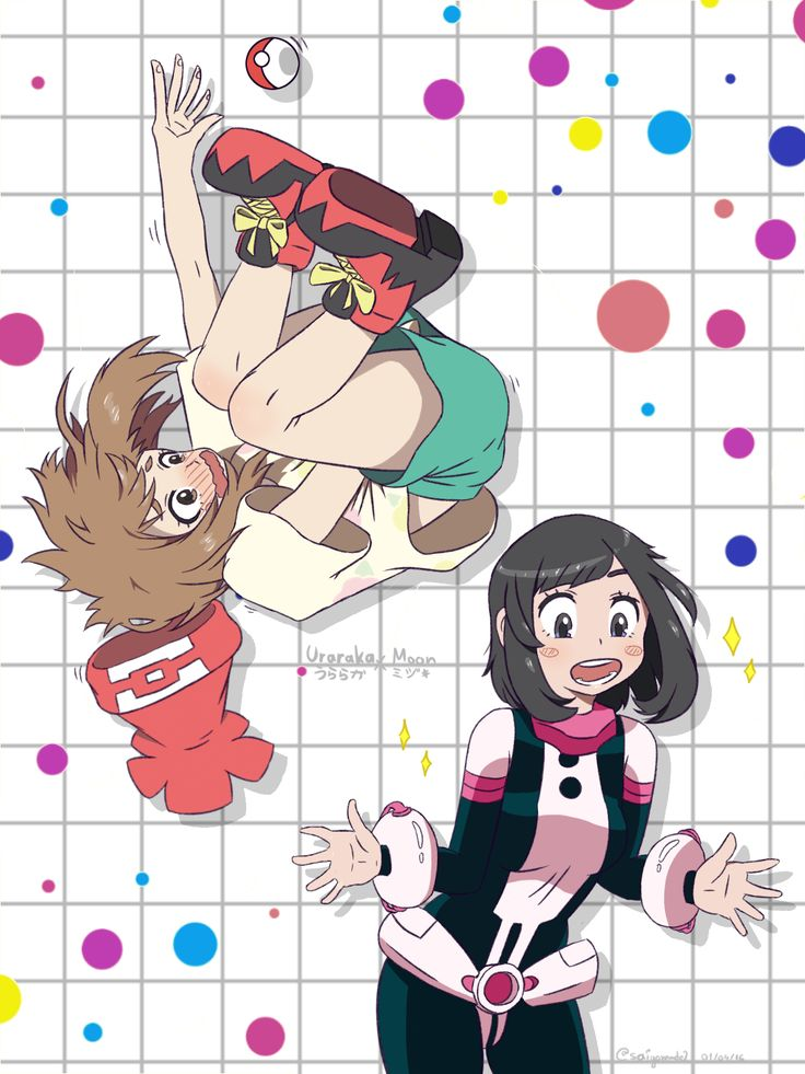 Boku no Hero Academia x Pokémon Sun and Pokémon Moon || Cross-Over