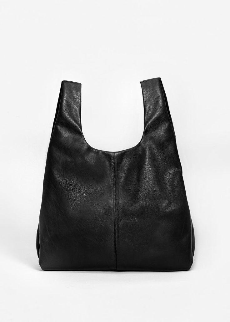 Shopper skinnveske -  Damer | MANGO Norge