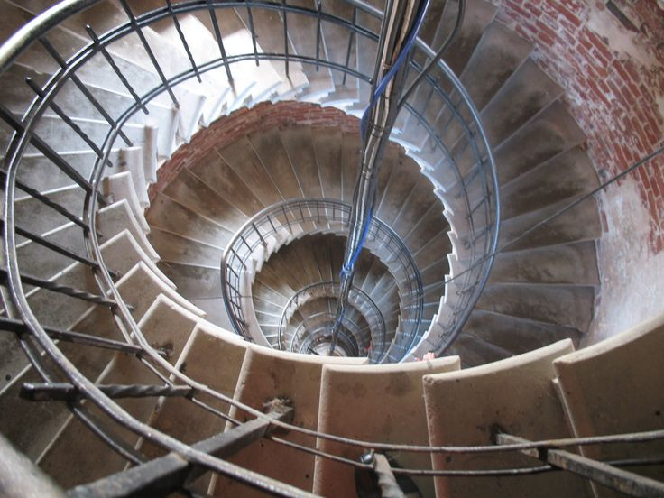 Staircase in the lighthouse, Bengtskär Finland Photo Pirjo Pesonen
