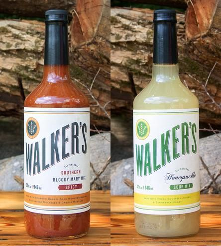 Southern Cocktail Mixer Set, Bloody Mary & Honeysuckle Sour by Walker Feed Co. on Scoutmob Shoppe