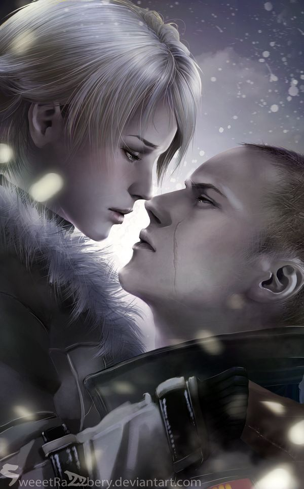 ɛηωοʀ  I understand the age difference between these two... And it bothers me not. Sherry Birkin and make Muller all the way!   Characters from Resident Evil 6