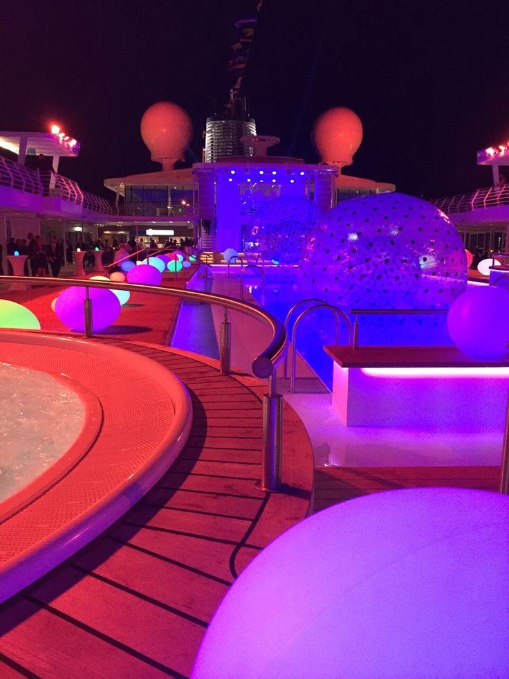 Taufe der Mein Schiff 4 von Tui Cruises in Kiel