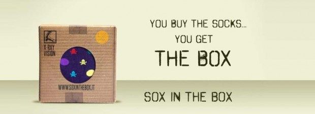 Sox in the box /packaging