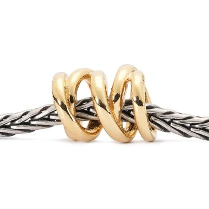 Three Siblings Bead, Gold. Thankful for Thanksgiving! #trollbeads #thankfulfor www,trollbeads.com